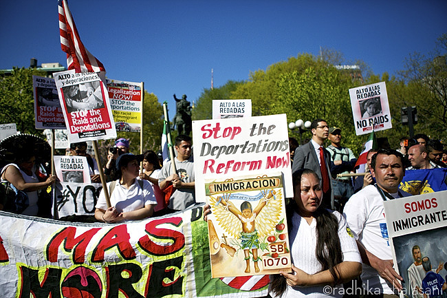 may day immigration reform protest